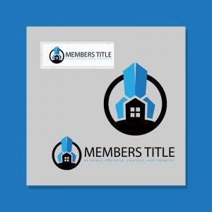 Logo Design for Members Title