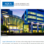 Aqua Labs website development