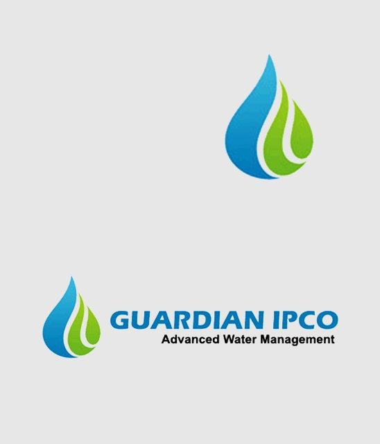 Guardian IPCO logo design