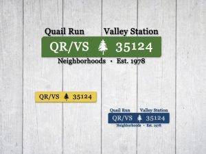 Logo Design for QRVS Association