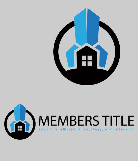 Logo Design for Members Title