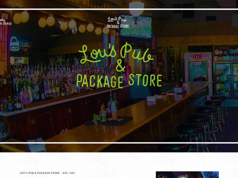 Web Development Lou's Pub