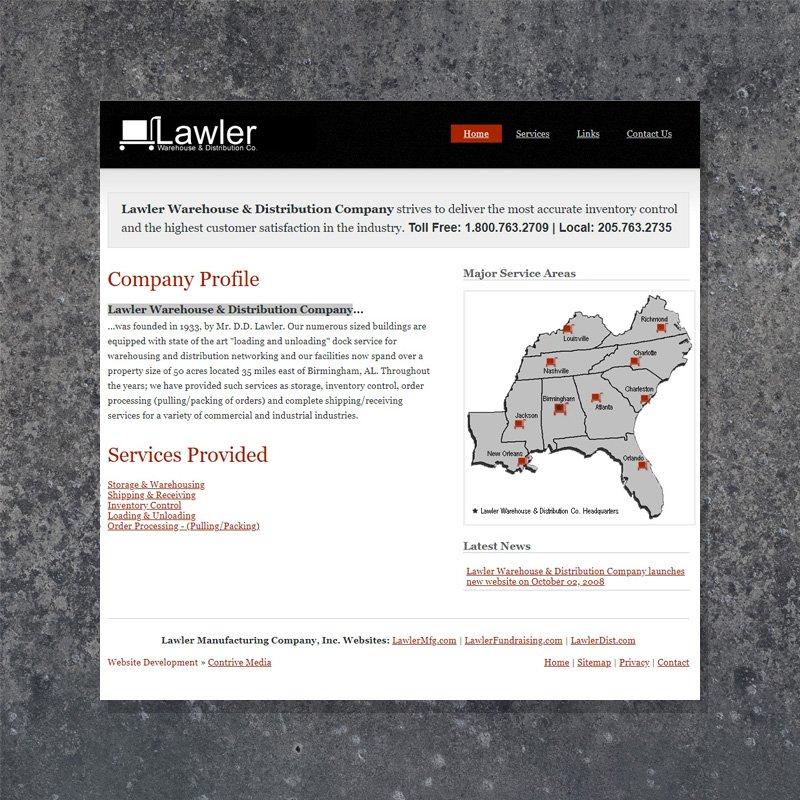 Branding and Website Design for Lawler Dist.