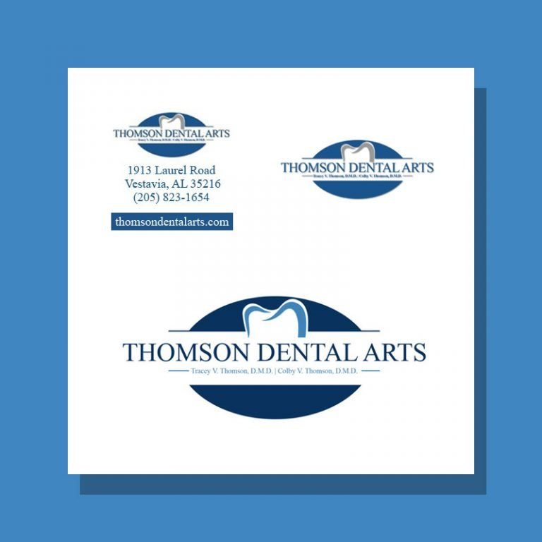 Logo Design for Thomson Dental Arts
