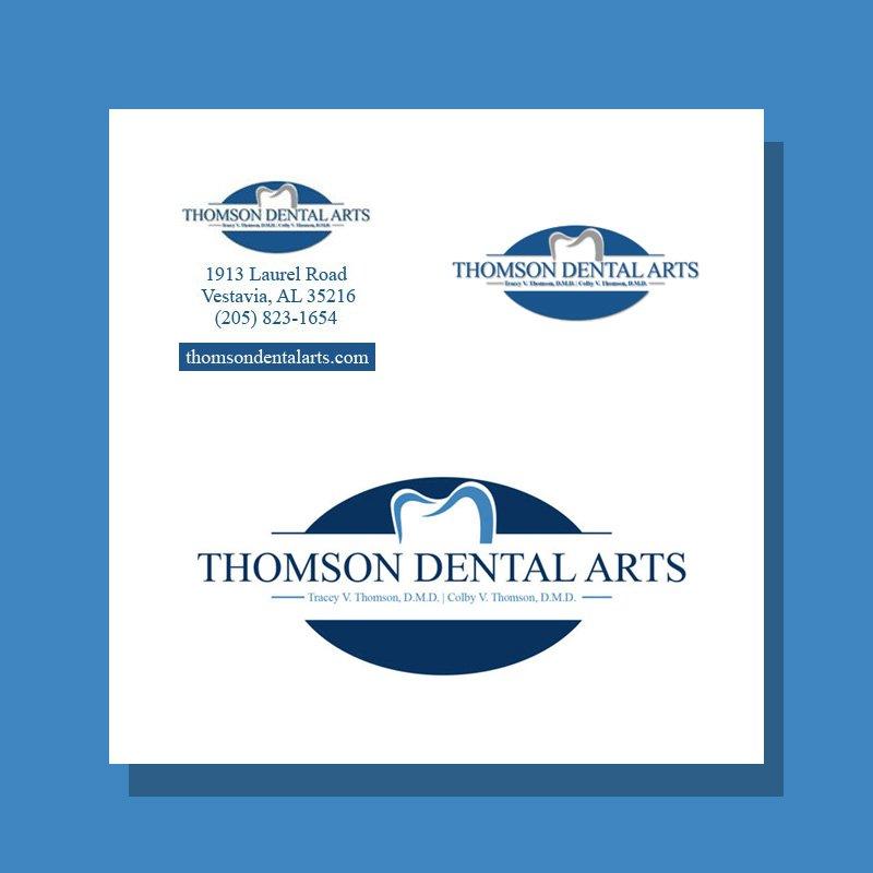Logo Design for Thomson Dental Arts