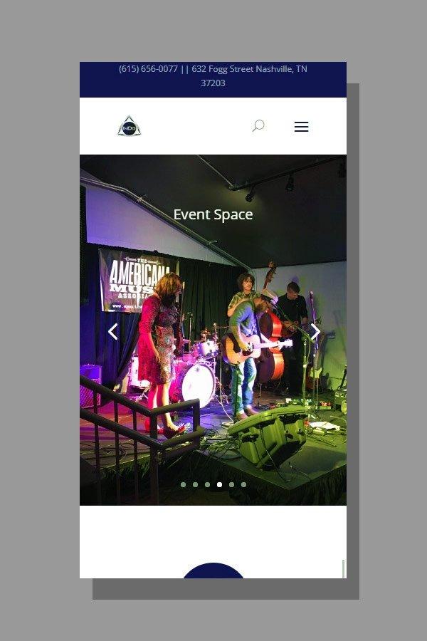Web Design for InDo Nashville
